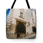 Old Charming Street In Prague Tote Bag