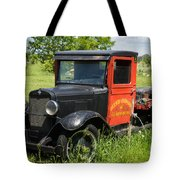Old Chevrolet Truck Tote Bag