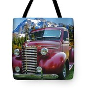 Old Chevy Pickup Ca5073-14 Tote Bag