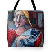 Old Child Of The City Tote Bag