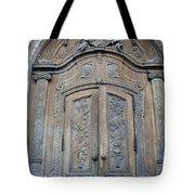 Old Church Door Tote Bag