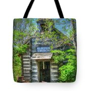 Old Church In The Woods Tote Bag