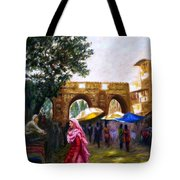 Old City Ahmedabad Series 6 Tote Bag