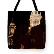 Old City Hall And Custom House Tower Tote Bag