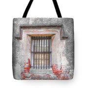 The Old City Jail Window Chs Tote Bag
