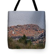 Old City Of Dubrovnik  Tote Bag