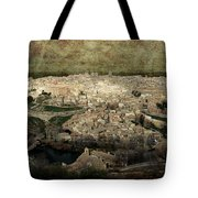 Old City Of Toledo Tote Bag