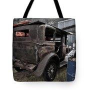 Old Classic Car Tote Bag