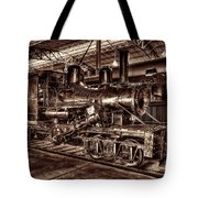 Old Climax Engine No 4 Tote Bag