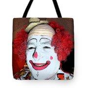Old Clown Backstage Tote Bag