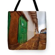 Old Colonial Street Corner Tote Bag