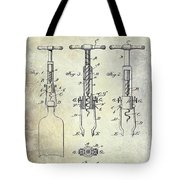 Corkscrew Patent Tote Bag