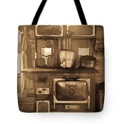 Old Country Stove Tote Bag