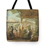 Old Covent Garden Market Tote Bag by George the Elder Scharf