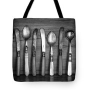 Old Cutlery Tote Bag