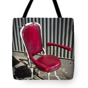 Old Dentist Chair Tote Bag