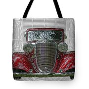 Old Desoto Tote Bag