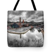 Old Dock Tote Bag by Adrian Evans