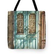 Old Door In Jersusalem Israel Tote Bag