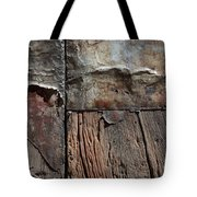 Old Door Textures Tote Bag