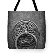 Old Doorknocker Tote Bag