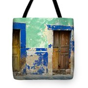 Old Doors, Mexico Tote Bag