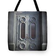 Old Doorway Quebec City Tote Bag