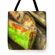 Old Dug-out Canoes Tote Bag