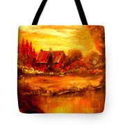Old Dutch Farm Tote Bag