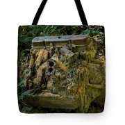 Old Engine Now Rust Tote Bag