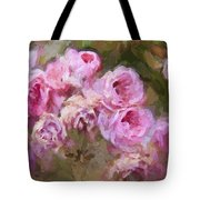 Old English Pink Tote Bag