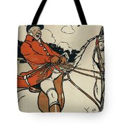 Old English Sports And Games Hunting Tote Bag