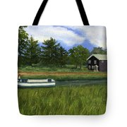 Old Erie Tote Bag