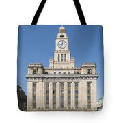 Old European Building On The Bund In Shanghai China Tote Bag