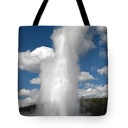Old Faithful Geyser Tote Bag