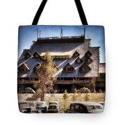 Old Faithful Inn Yellowstone  Tote Bag