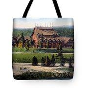 Old Faithful Inn Yellowstone Np 1928 Tote Bag