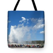 Old Faithful. With Thanks To Lee Tote Bag