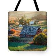 Old Farm In Eastern Washington Tote Bag