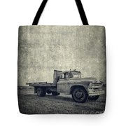 Old Farm Truck Cover Tote Bag