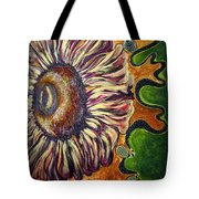 Old Fashion Flower 2 Tote Bag