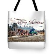 Old Fashion Merry Christmas Tote Bag