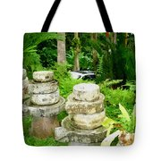 Old Fashion Stone Bean Grinder Tote Bag