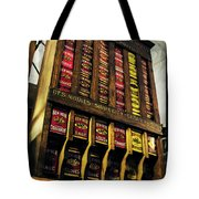 Old Fashioned Herbs And Spices Tote Bag