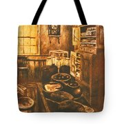 Old Fashioned Kitchen Again Tote Bag
