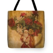 Old Fashioned St Nick Tote Bag