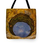 Old Fashioned Well Abstract Tote Bag