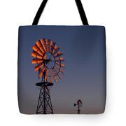 Old Fashioned Wind Mill Tote Bag