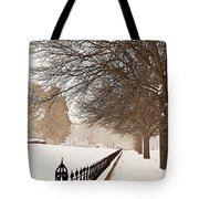 Old Fashioned Winter Tote Bag