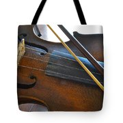 Old Fiddle And Bow Still Life 2 Tote Bag